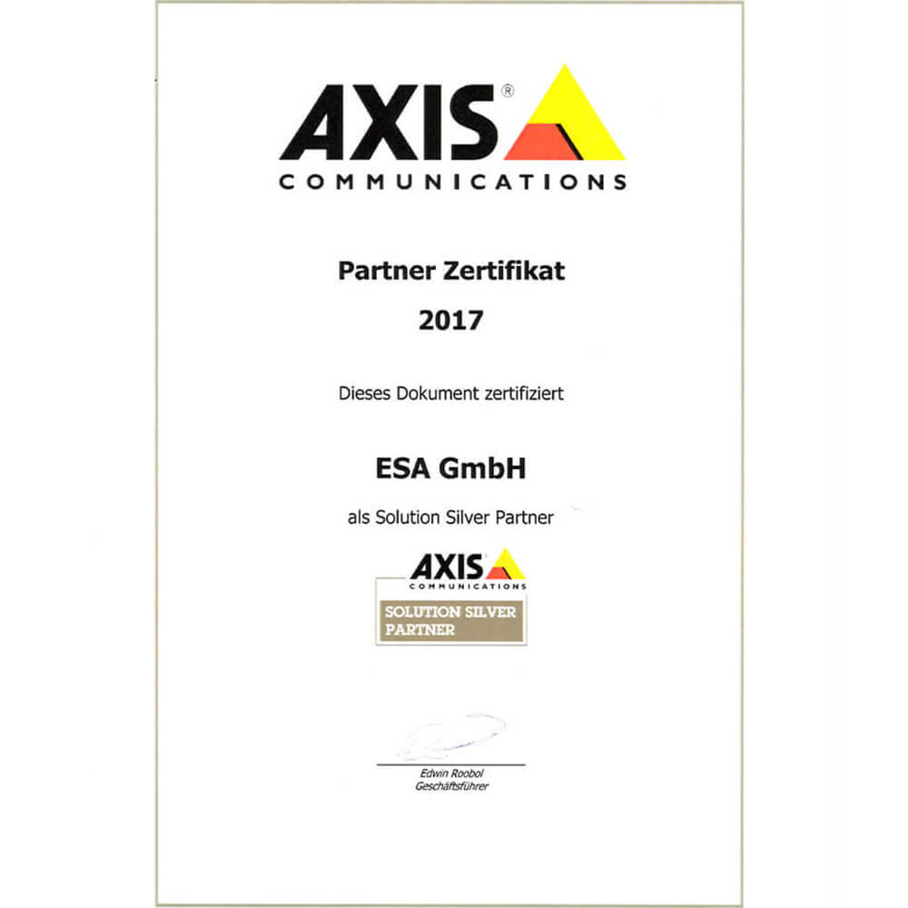 <strong>Axis Solution Partner seit 2017</strong>