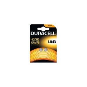 Duracell Electronics - Batterie 2 x LR43 Alkalisch