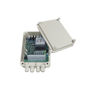 Videotec DTMRX224 Telemetrie-Empfänger, 12 Funktionen, RS232, RS485, Koax, IP56, 24VAC