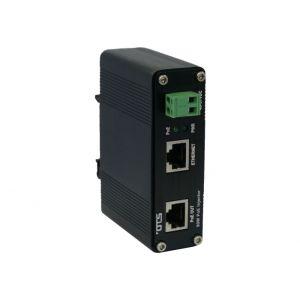 OT Systems ET-INJ90 PoE Injector, 1 Kanal,  1Gbit, PoE++ 90 W, -40+75°C, 48VDC
