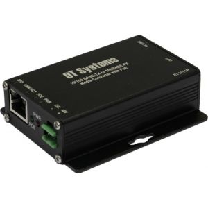 OT Systems ET1111P-C Medienkonverter, 1 Port, Multi Mode, WDM 1-Fiber, Micro, PoE, 10/100BaseTX/100BaseFX, SC