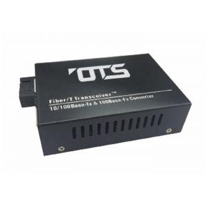 OT Systems EC1111-A Medienkonverter, 1 Port Multi Mode,10/100Base-TX nach 100Base-FX, 2km, SC