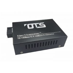 OT Systems EC1111-B Medienkonverter, 1 Port Single Mode,10/100Base-TX nach 100Base-FX, 20km, SC