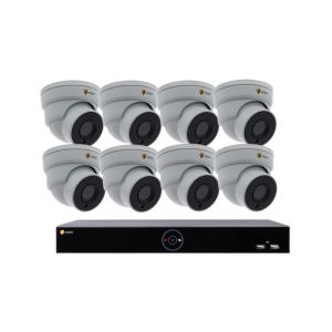 Eneo SAFE&EASY-SET-08DF 4MP IP-Videoset 8-Kanal