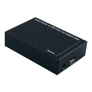 Roline HDMI Extender over TP Transmitter and Receiver - Video-/Audio-/Infrarot-Übertrager - HDMI - bis zu 100 m