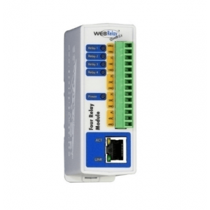 2N External IP Relay 4 OUT PoE Realais