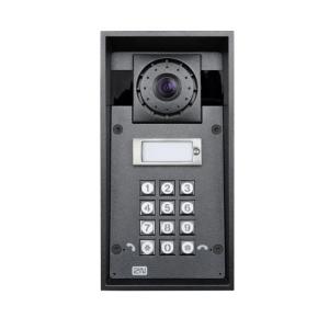 2N IP Force 1Button HDCam Keyp IP Videotürstation