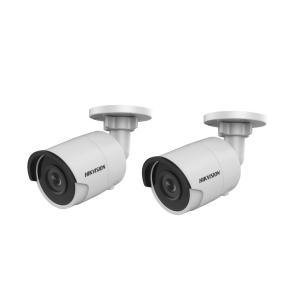 HIKVision KAMERA-SET 2x DS-2CD2045FWD-I(2.8mm) IP Bullet Kamera 4 MP Full HD Outdoor