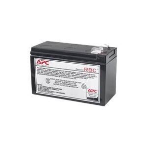APC APCRBC110 Ersatzbatterie Nr. 110 Cartridge  - 1 x Bleisäure - Schwarz