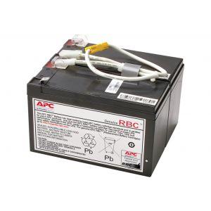 APC APCRBC109 Ersatzbatterie Nr. 109 Cartridge - 1 x Bleisäure - Anthrazit