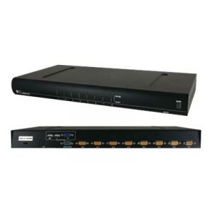 "VALUE 19"" KVM-Switch - KVM-Switch - PS/2, USB - 8 x KVM port(s) - 1 lokaler Benutzer - an Rack montierbar"