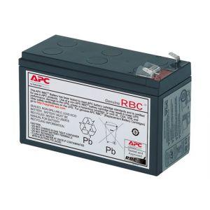 APC APCRBC106 Ersatzbatterie Nr. 106 Cartridge - 1 x Bleisäure - Schwarz