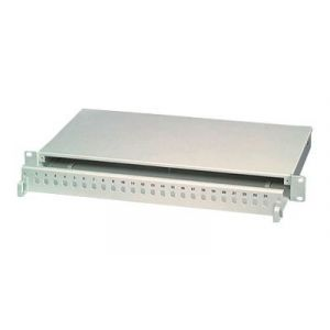 """VALUE - Patch Panel - RAL 7035 - 1U - 19"""" - 12 Ports"""