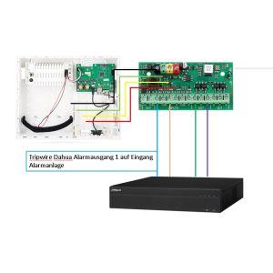 Jablotron JA-ViBo 5010 Video - Anschlussbox