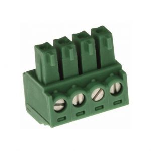 AXIS CONNECTOR A 4P3.81 STR 10PCS Axis Anschlussblock
