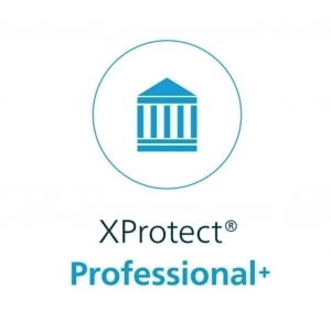 Milestone XPPPLUSBL XProtect Professional+, Video Management Software, für 1 Server