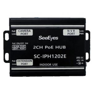 SeeEyes SC-IPH1202E PoE Extender, Splitter, 2 Ports IN
