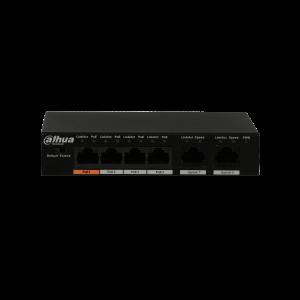 Dahua D-PFS3006-4ET-60 Switch 4 Kanal