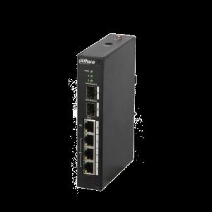 Dahua D-PFS3206-4P-120 Switch 4 Kanal
