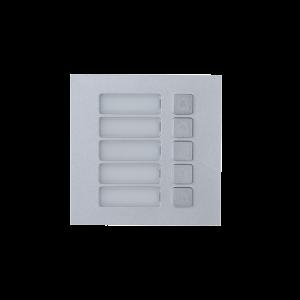 Dahua D-VTO4202F-MB5 5-Tasten Klingel-Modul