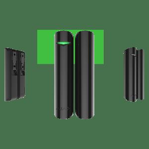 Ajax DoorProtect - Drahtloser Öffnungs- Melder für Tür und Fenster in Farbe schwarz