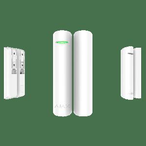 Ajax DoorProtect - Drahtloser Öffnungs-Melder für Tür und Fenster in Farbe weiß