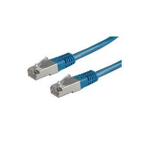 ROLINE FTP Patchkabel konf. Kat. 5e blau 0,5m-20m