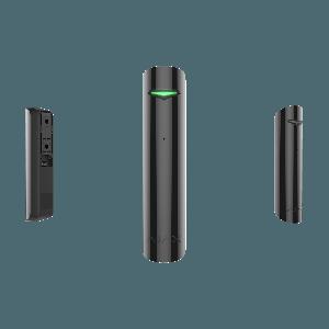Ajax GlassProtect drahtloser Funk- Glasbruchmelder in Farbe schwarz