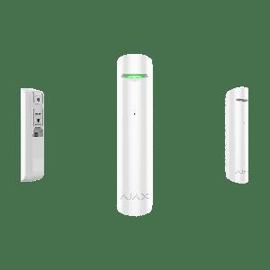 Ajax GlassProtect drahtloser Funk- Glasbruchmelder in Farbe  weiß
