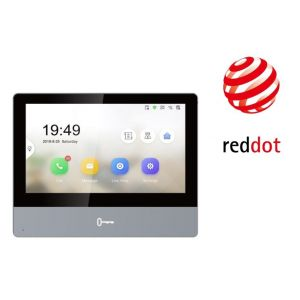 "HIKVision DS-KH8350-TE1/EU 7"" Touch-Screen Indoorstation"