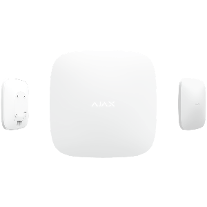 Ajax HUB intelligente Funk- Alarmzentrale in Farbe  weiß