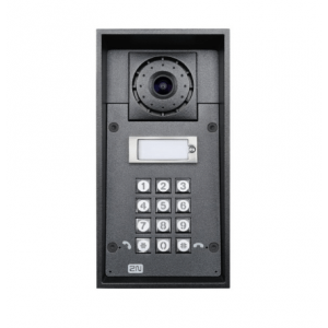 2N IP Force 1Button Cam Keypad