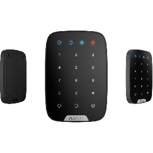 Ajax KeyPad Funk-Bedienteil Touch-Tastatur in Farbe schwarz
