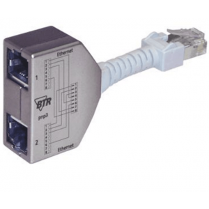Metz Connect BTR Cable Sharing Adapter pnp3, Ethernet/Ethernet, 2 St.