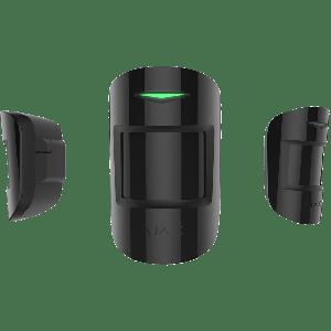 Ajax MotionProtect Plus drahtloser Funk Dual- Bewegungsmelder mit Mikrowellensensor in Farbe schwarz