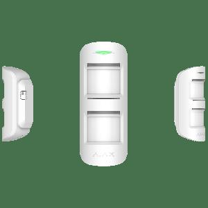 Ajax MotionProtect Outdoor Drahtloser Funk Außenbewegungsmelder mit intelligentem Schutz vor Fehlalarmen in Farbe  weiß