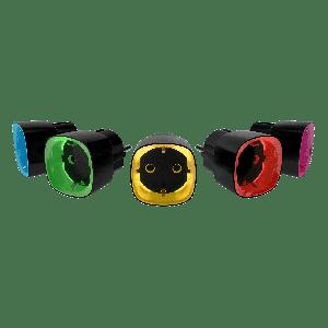Ajax Socket Kabellose intelligente Steckdose mit Energiemonitor in Farbe  schwarz