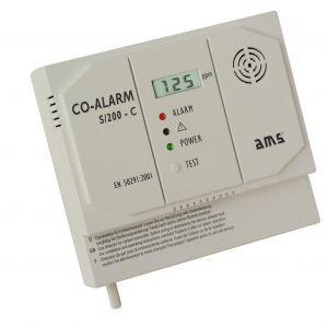 AMS S/200-C 230 V Kohlenmonoxidmelder