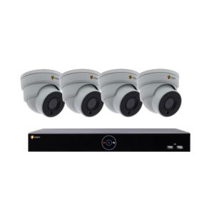 Eneo SAFE&EASY-SET-04DF 4MP IP-Videoset 4-Kanal