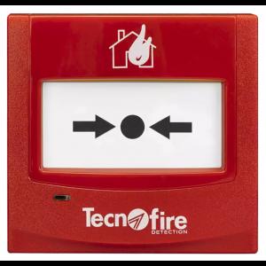 Tecnofire TF-CP adressierbarer Druckknopfmelder