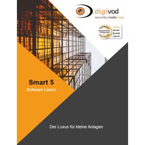 digivod SMART 5 Software (nicht flexibel erweiterbar)