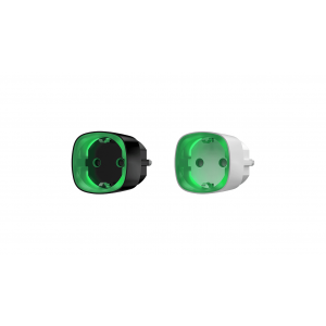 Ajax Socket Kabellose intelligente Steckdose mit Energiemonitor in Farbe  weiß