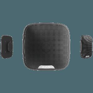 Ajax StreetSiren drahtlose Funk Außensirene in Farbe  schwarz