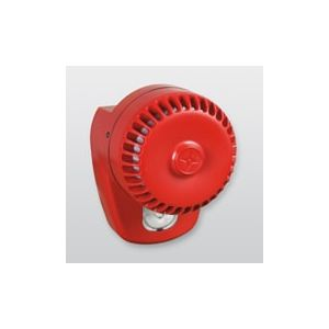 Telenot Optisch-Akustischer Signalgeber Rolp LX Wall Rot