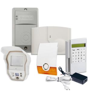 Videofied Funkalarmanlage Komplettset für Außenbereich Überwachung