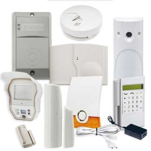 Videofied Funkalarmanlage Komplettset professional  für Innen sowie Außenbereich Überwachung Set 6