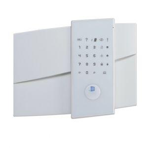 videofied FAP083 XL Zentrale mit GPRS-Wählgerät Chipleser, Audio, Sirene, inkl. Batterien