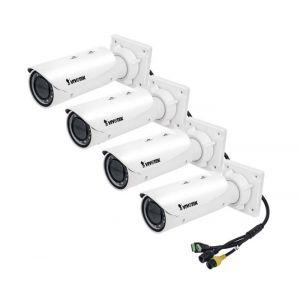 VIVOTEK IP Bullet Kamera IB9381-HT 5MP Full HD Outdoor 4 Stück