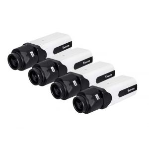 VIVOTEK IP Box Kamera IP9181-H 5MP Full HD Indoor 4 Stück