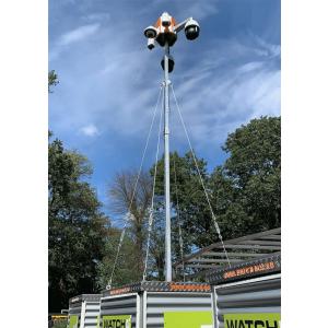 German Protect WATCH Security BOX  Kamera-Überwachungsturm 230V